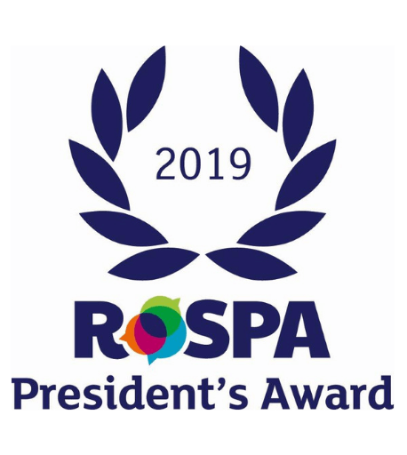 RoSPA presidents award, awarded to Britannia